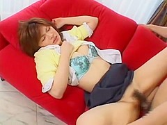 Horny Japanese girl Erin Tohno in Best Dildos/Toys, Close-up JAV movie