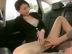 Exotic Japanese slut Yuri Aine in Hottest Dildos/Toys, Close-up JAV clip