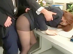 Incredible Japanese chick Saki Kataoka in Exotic Cunnilingus, BDSM JAV clip
