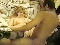Horny Amateur video with Small Tits, Stockings scenes