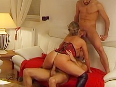 Hottest French, Mature sex video