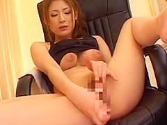 Amazing Japanese whore in Fabulous Solo Girl, Masturbation JAV clip