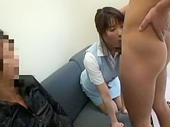 Fabulous Japanese chick Rui Saotome in Amazing Handjobs, Cunnilingus JAV clip