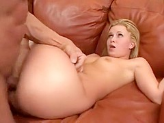 Cute Coed Gets Hard Bang & left with Slit Creampie