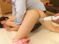 Amazing Japanese girl Risa Sanada in Incredible Small Tits, Toys JAV scene