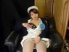 Amazing Japanese chick Hitomi Sudo, Akiko Osawa, Hiroko Okuno in Hottest Solo Female JAV movie