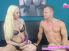 German Amateur Userdate with blond tattoo milf