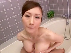 Fabulous Japanese chick Julia in Exotic Blowjob, Cumshot JAV clip