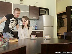 Casual Teen Sex - Izi Ashley - Cum on my face like a stranger