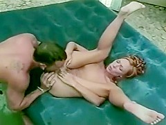 No Cock or Hole Goes Untouched Out At This Poolside Orgy