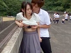 Best Japanese chick Aiko Hirose, Ayumi Iwasa, Imai Natsumi in Incredible Compilation JAV clip