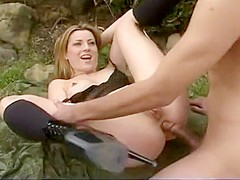 Aurora Snow bangs the husband of her sista and makes him jizz