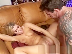 Hardcore anal sex with blonde chick babe