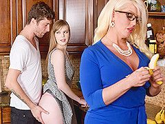 Dolly Leigh & Alura Jenson in My Step Daughter's Boyfriend - BadMilfs