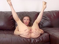 Slutty Casey Calvert relishes a hard fucking and takes a huge facial