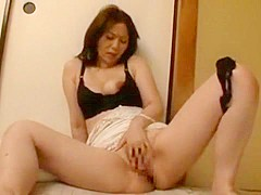 Exotic Japanese chick Chisato Shouda in Horny Cunnilingus JAV movie