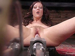 Cherry Torn in Fetish Queen Cherry Torn Fucked with Huge Dildos and Multiple Orgasms - FuckingMachin