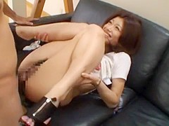 Amazing Japanese model Akira Saijo in Fabulous Small Tits, Couple JAV video