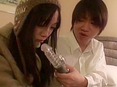 Hottest Japanese chick in Crazy Toys, Solo Female JAV movie
