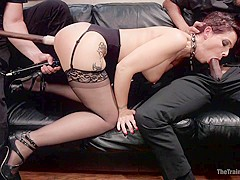 Domestic Anal MILF Training Syren de Mer, Day One - TheTrainingofO