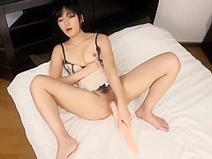 Horny Japanese slut Nana Usami in Fabulous Solo Female, Close-up JAV clip
