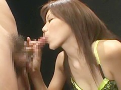 Hottest Japanese whore Risa Fujisaki in Crazy Small Tits, Cumshots JAV movie