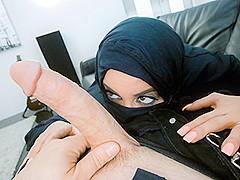 Victoria June in Busty Arabic Teen Violates Her Religion - POVLife