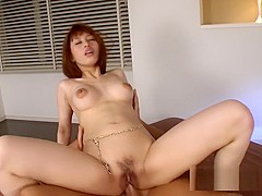 Crazy Japanese slut in Incredible Threesomes, Natural Tits JAV movie