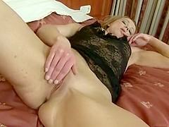 Attractive blonde Suzy is addicted to black cock and has a passion for anal sex