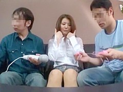 Amazing Japanese girl Erika Ando in Crazy Dildos/Toys, Creampie JAV movie