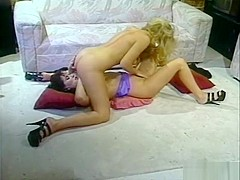 Barbara and Elodie are two cunt hungry lesbians living in sexy sin
