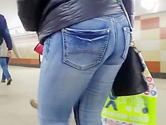 Good ass in tight jeans