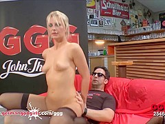 German Goo Girls - Blondie Jessy And Sexy Mia Fucked Side by Side
