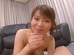 Incredible Japanese model Ai Naoshima in Exotic Couple, Blowjob JAV video