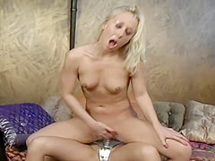 Sativa Rose is into women and they do some hot strapon fucking