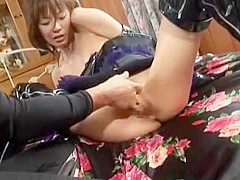 Hottest Japanese girl Misa Kikouden in Best Close-up, Cunnilingus JAV clip
