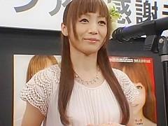 Hottest Japanese slut Fuka Nanasaki in Horny Blowjob, Facial JAV scene