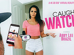 Abby Lee Brazil in Caught Watching - VRBangers