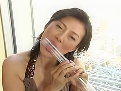 Exotic Japanese girl Rui Ayukawa in Hottest JAV video