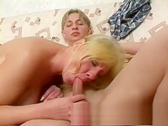 POV Amateur blowjob by a sexy blonde mature whore