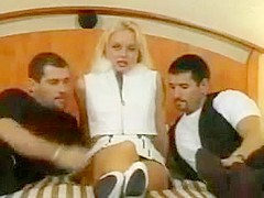 Silvia saint double anal penetration dap from nasty nymphos