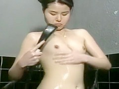Inviting Japanese babe gets her pussy stretched out by a hung man