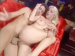 Missy Monroe has got both of her orifices wet and ready for him