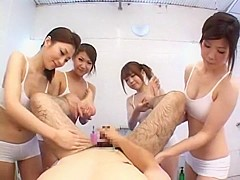 Incredible Japanese whore Yuuna Takizawa in Fabulous Massage, POV JAV scene