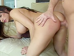 Delightful young Sheila Marie loves to get her ass roughly reamed
