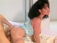 Hot babe Jeanna Fine begs Tony Tedeschi to stick his cock inside her