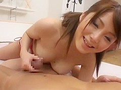 Crazy Japanese slut Saki Tsuji in Fabulous Amateur, Couple JAV movie