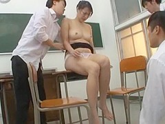 Fabulous Japanese whore Natsumi Horiguchi in Incredible Blowjob, Mature JAV scene