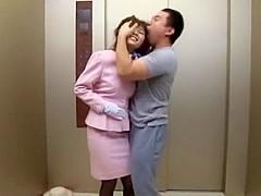Amazing Japanese slut Azumi Harusaki in Incredible Stockings, Facial JAV video