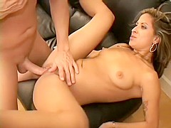 Satisfying cuttie August agrees to fuck with stranger for the first time ever